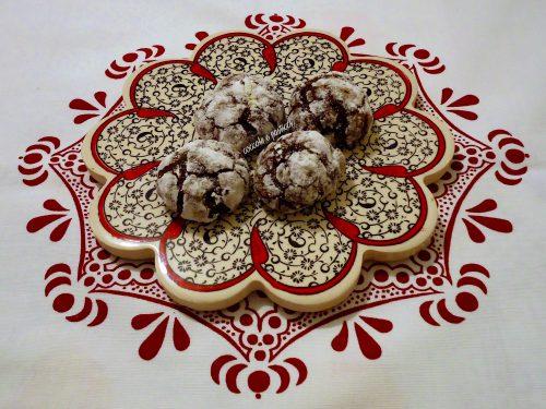 Chocolate crinkle cookies – Laura Vitale  SENZA GLUTINE