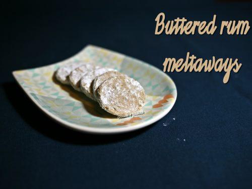 Buttered rum meltaways – Martha Steward SENZA GLUTINE