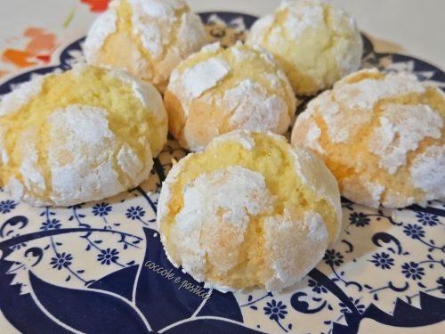 crinkle cookies al cocco SENZA GLUTINE