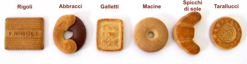 Mulino Bianco: Biscotti Macine - Galletti - Tarallucci il passato