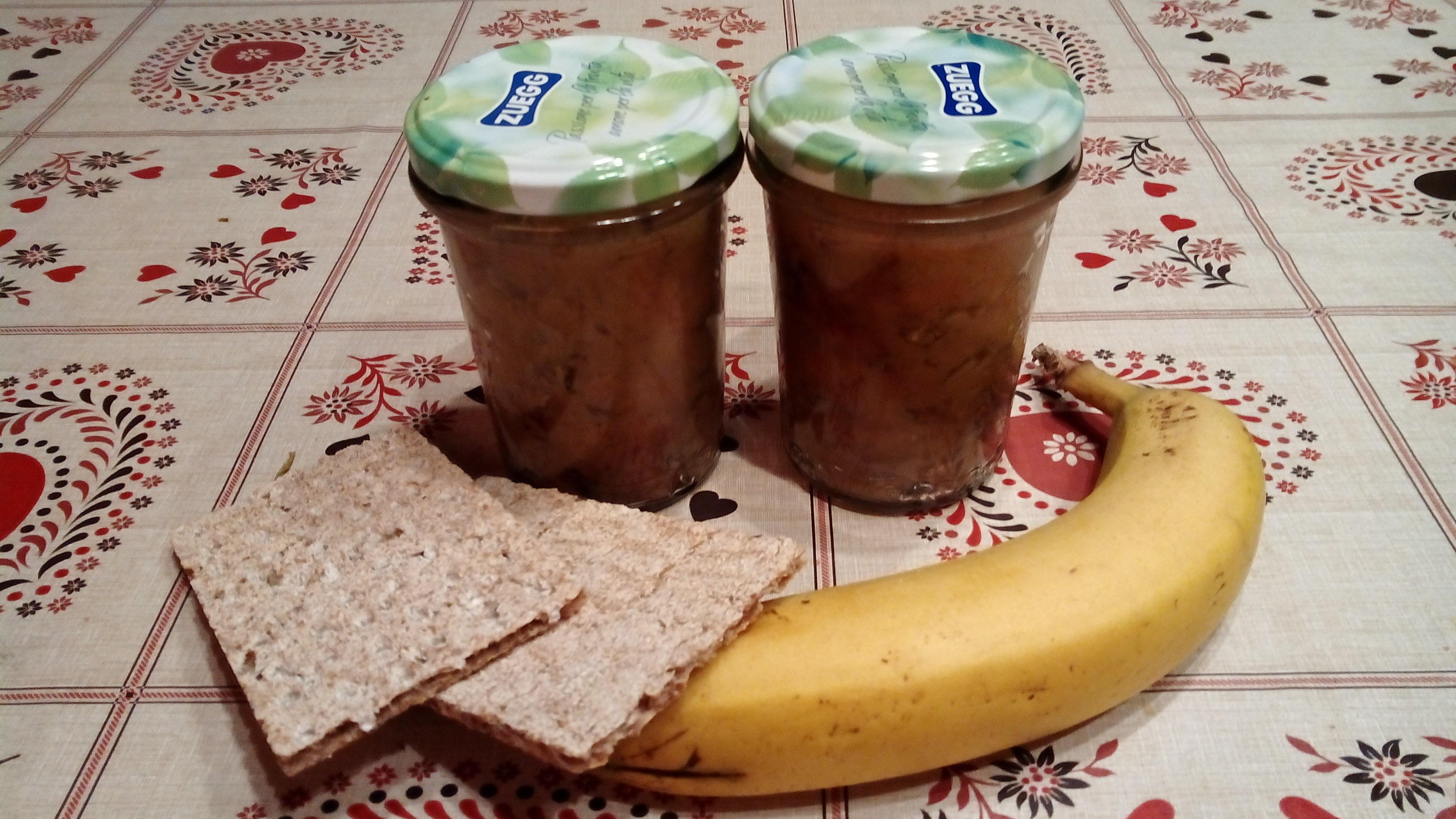 Confettura di Banana al microonde senza zuccheri aggiunti