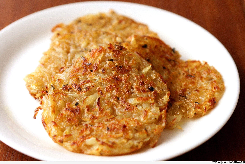 Rosti di patate con speck
