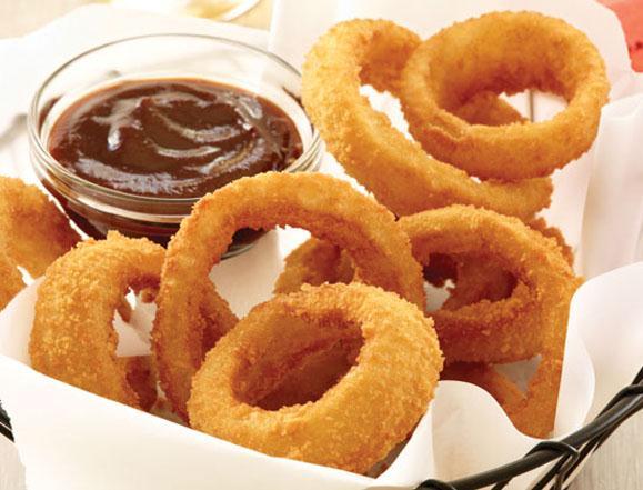 Anelli di cipolla (onion rings)
