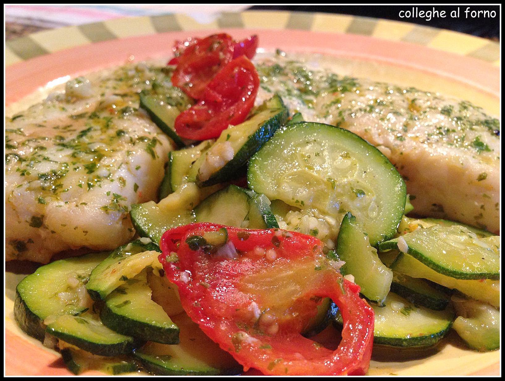 Merluzzo: la ricetta bianca, verde e rossa