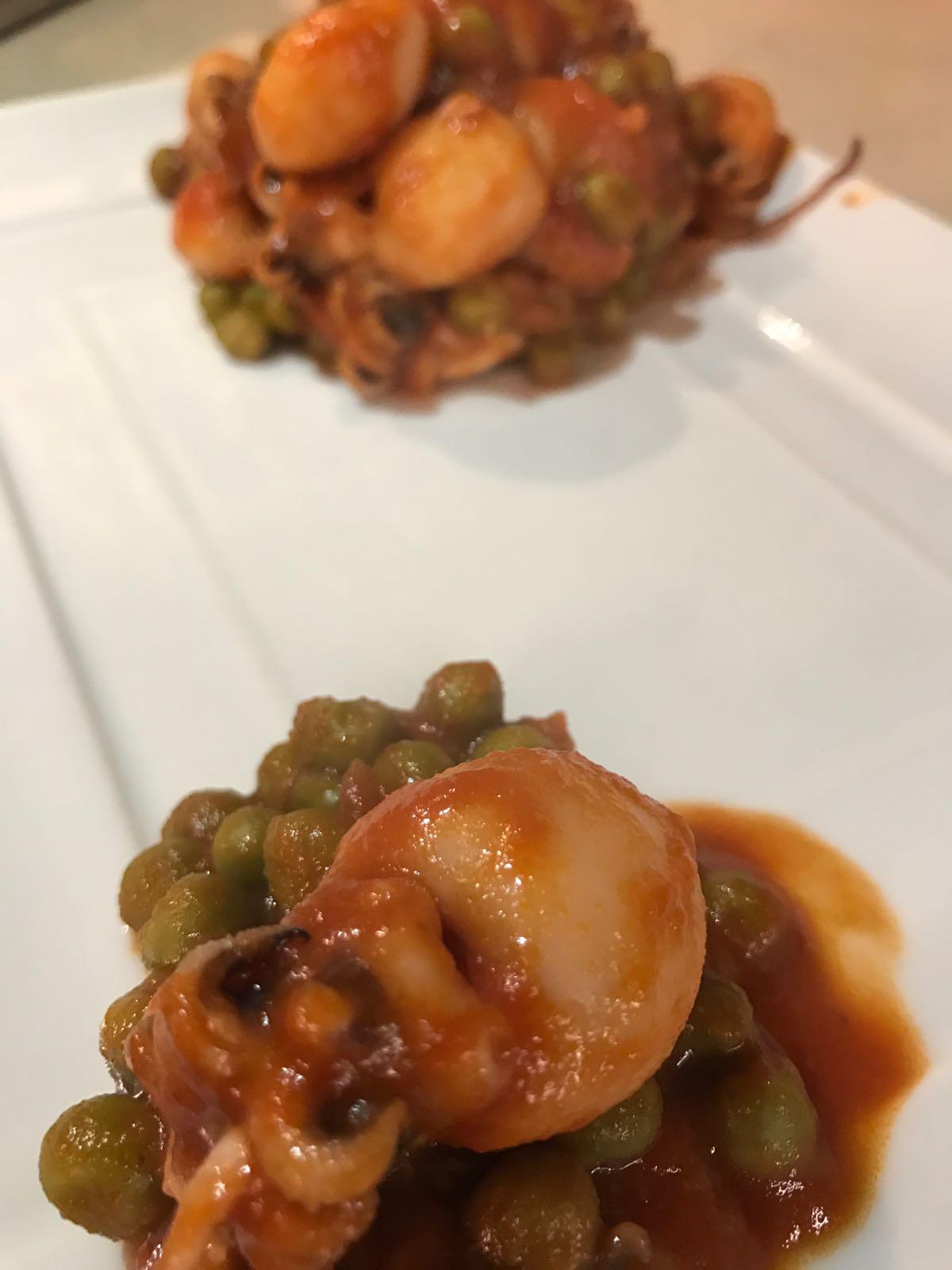 Seppie in umido con piselli: la ricetta