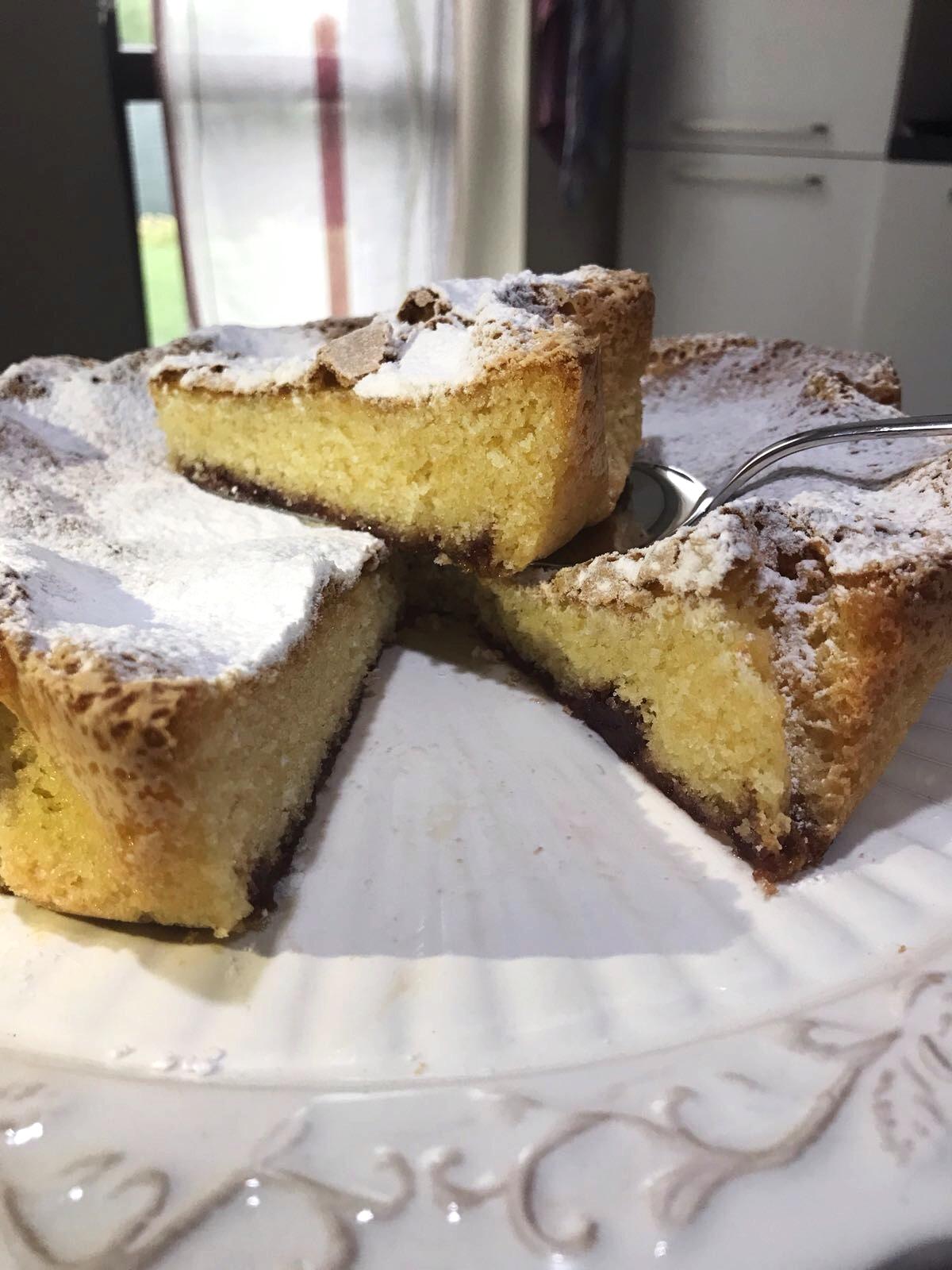 torta senza glutine e senza latte