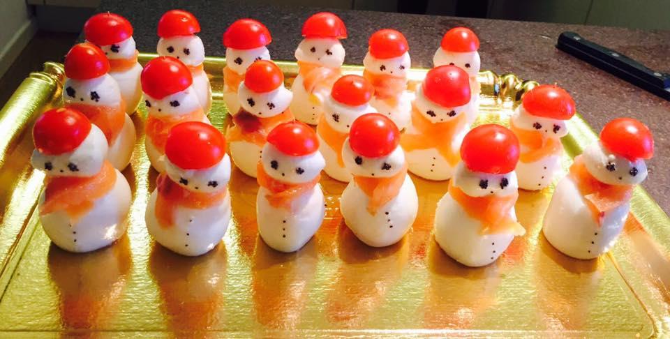 Top Antipasti di natale: pupazzi di neve - Colleghe al forno WC47