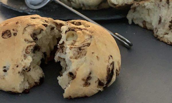 Pane con gocce di cioccolato la ricetta con il Bimby