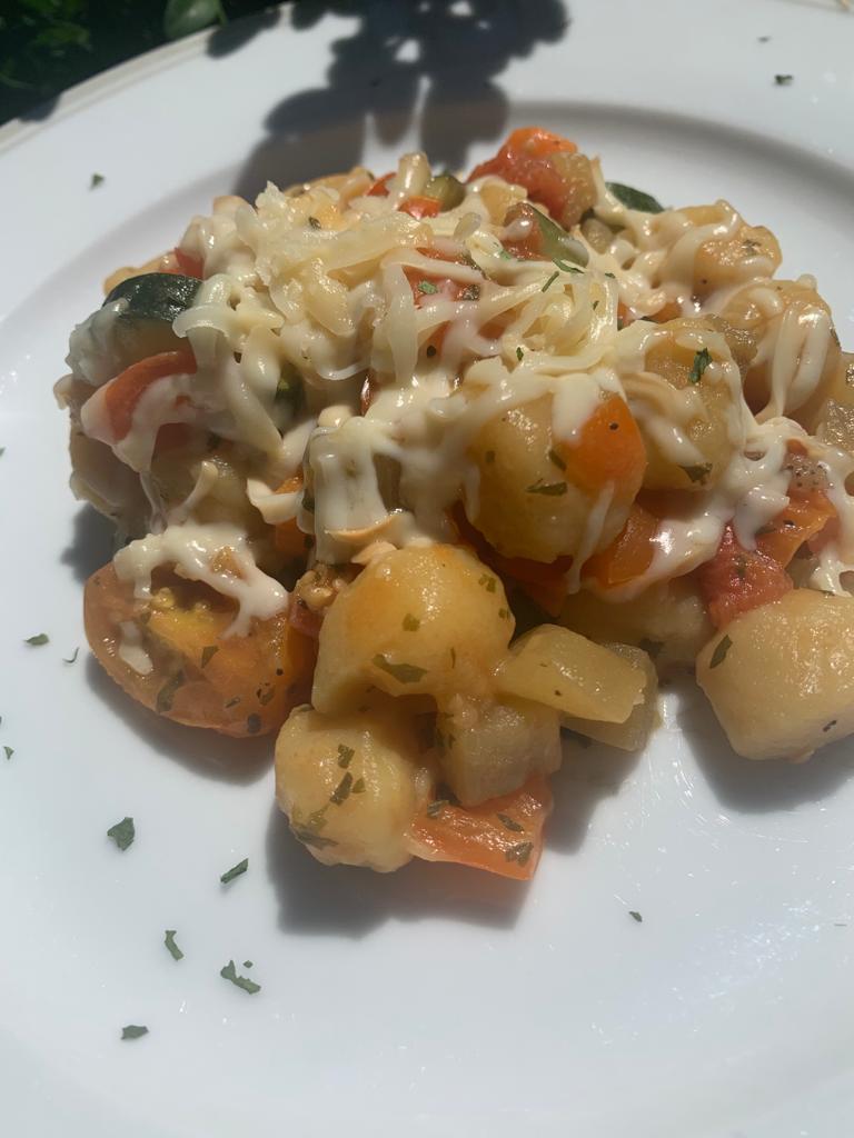 gnocchi di patate con verdure