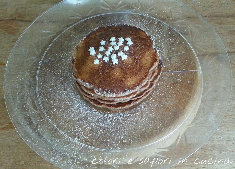 Pancake pan di stelle