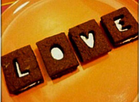 Biscotti gelato love