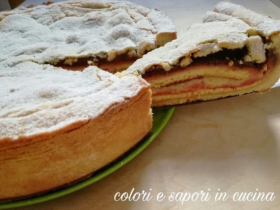 Crostata alla zuppa inglese colori e sapori in cucina - Colori adatti alla cucina ...