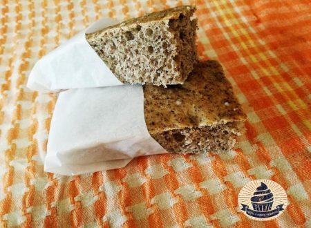Focaccia con grano saraceno