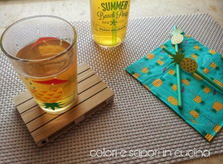 Tè freddo al limone