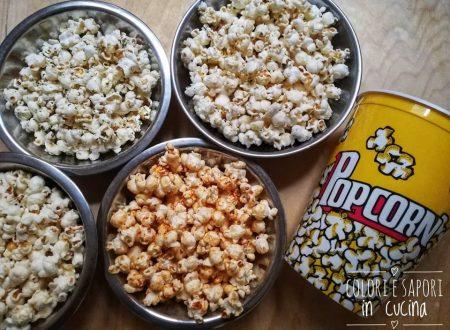 Popcorn in vari gusti, semplici e veloci
