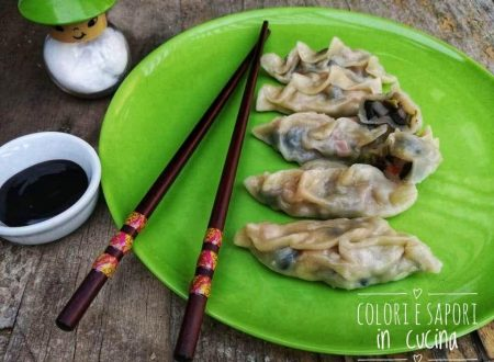Ravioli cinesi di verdure, al vapore