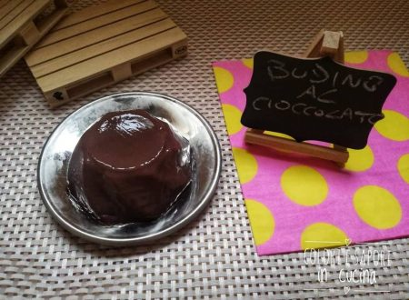 Budino al cioccolato, senza burro