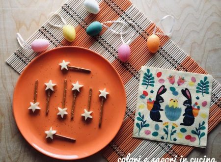 Antipasto di Pasqua, stelline al formaggio