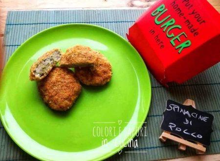 Spinacine di pollo, leggere e gustose