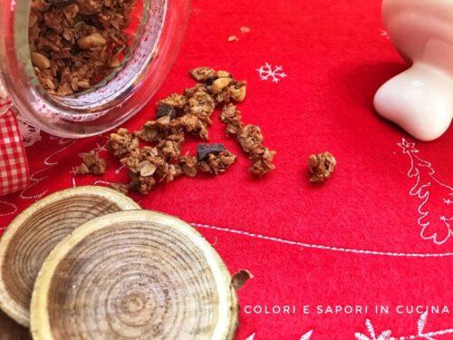 Muesli di Natale, con frutta secca