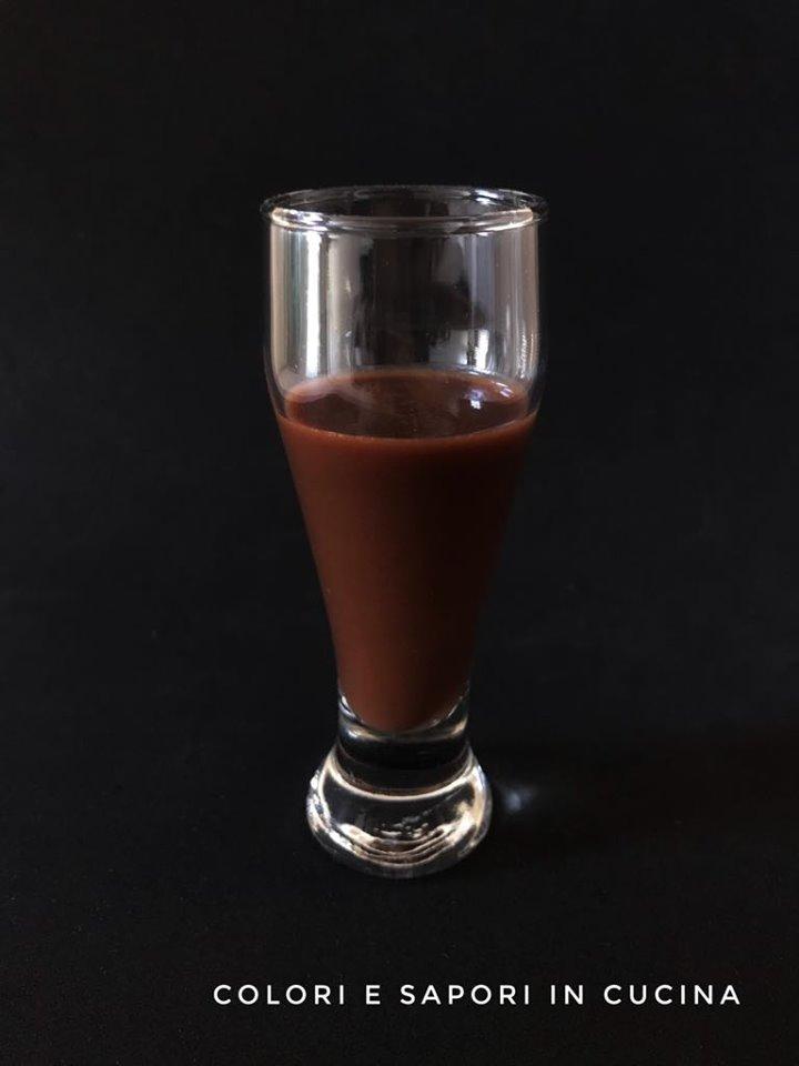 liquore al cocco e cioccolato