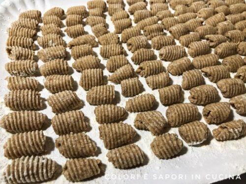 Pasta di segale fatta in casa