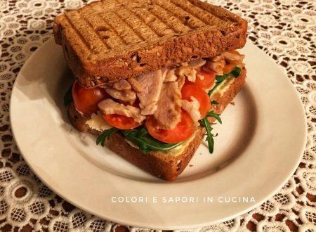 Sandwich integrale con kebab
