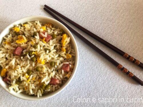 Riso alla cantonese, ricetta cinese