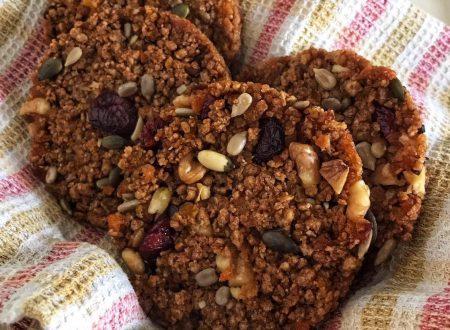 Biscotti light ai semi e frutta secca