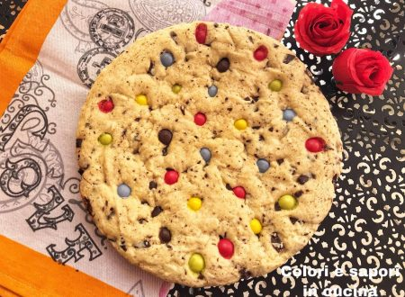 Crostata cookies e smarties morbida