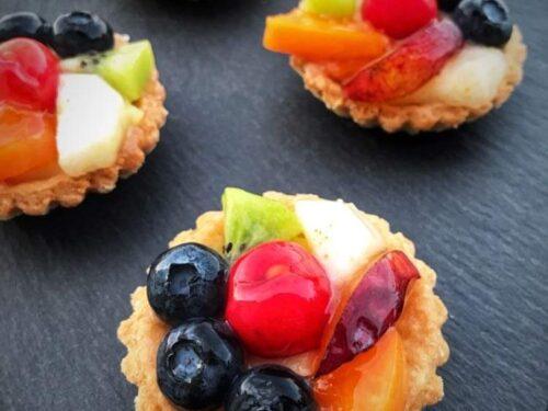 Crostatine alla frutta monoporzioni