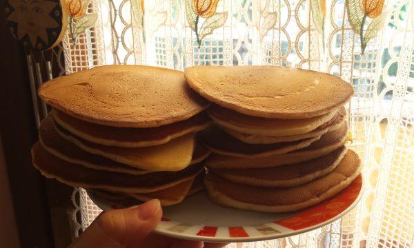 Pancakes con esubero di pasta madre