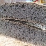 Pane nero integrale ad impasto diretto