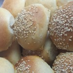Panini da hamburger con lievito madre