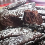 Tronchetti al cioccolato alla cannella
