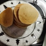 Pancakes vegani e gluten free con pasta madre