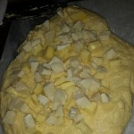 Pizza al formaggio Umbra con pasta madre