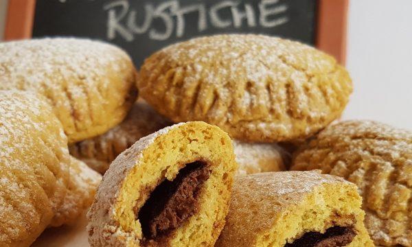 Biscotti Mezzelune rustiche ricetta della nonna senza lievito senza latte e burro