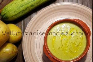Vellutata di sedano e zucchina
