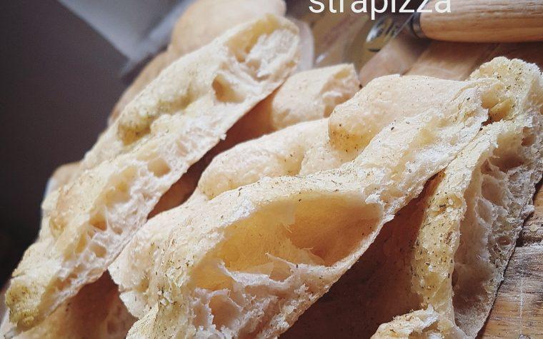 Pizza bianca Strapizza