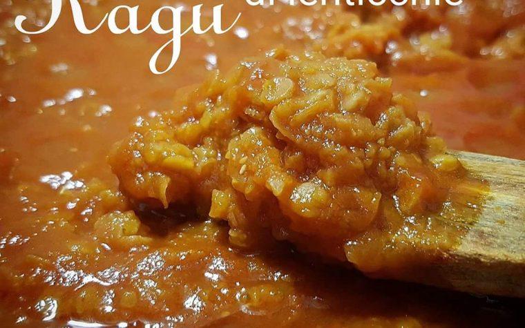 Ragù di lenticchie rosse decorticate