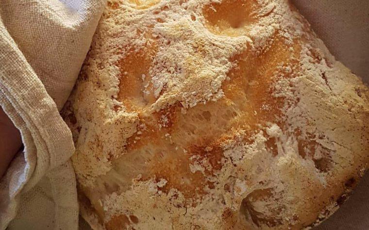 Ciabattine homemade gluten free