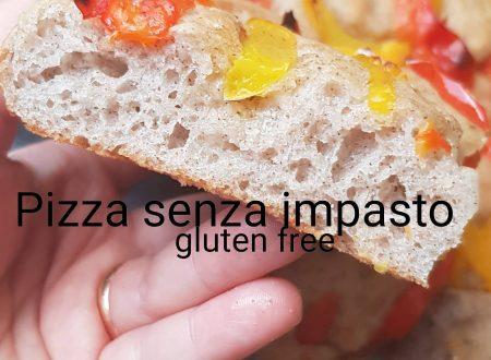 Pizza senza impasto gluten free