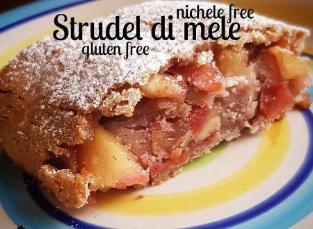Strudel di mele nichel free e gluten free