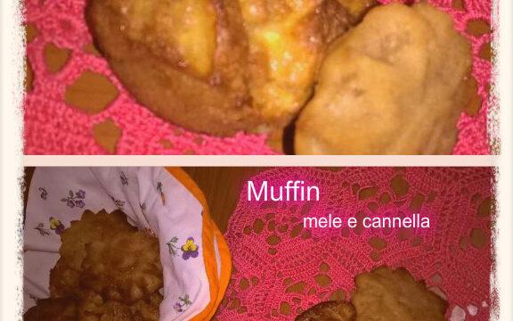 Muffin mele e cannella. Un dolce semplice da fare, veloce e ricco di gusto e profumo. Ideale per la colazione o la merenda
