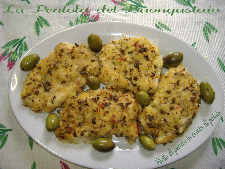 Filetto di persico in crosta di patate | La pentola del buongustaio