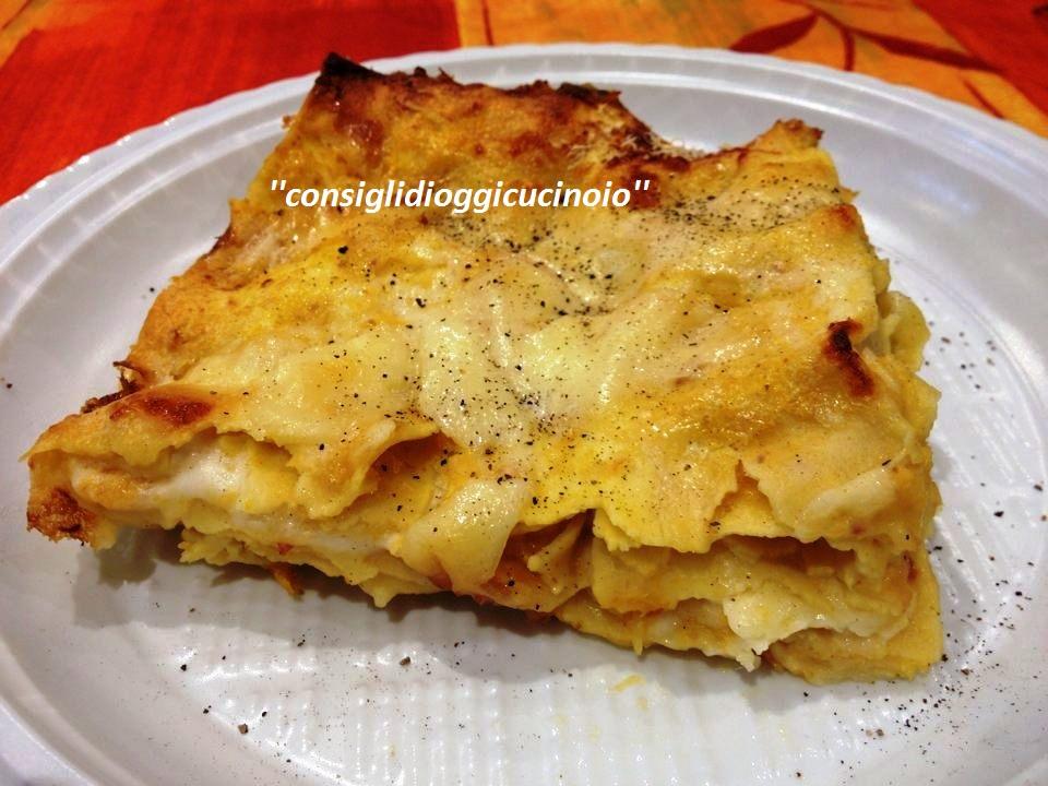 Lasagne con Zucca, Provola e...di M.Muguerza