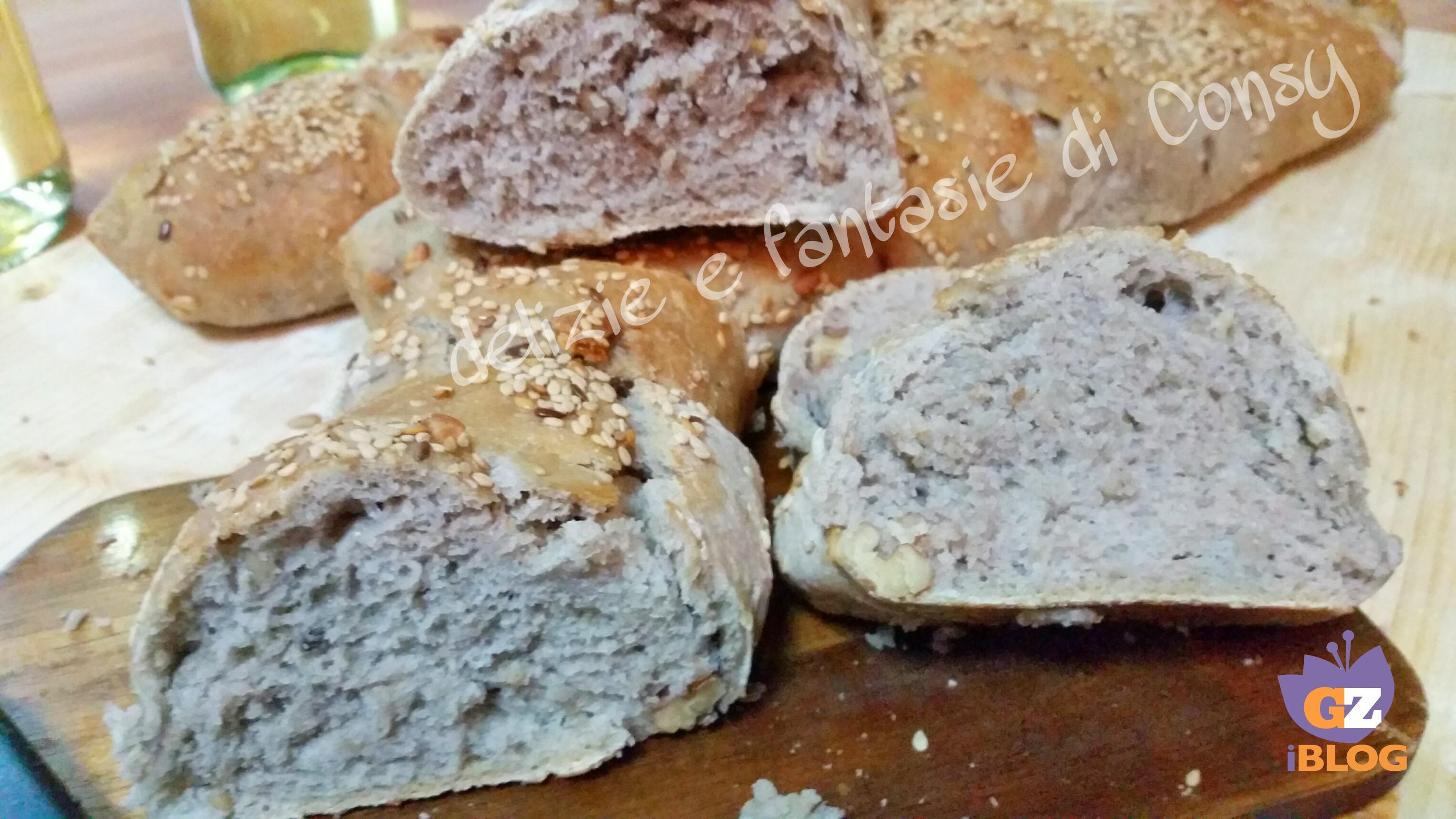 pane fatto in casa con farina di farro