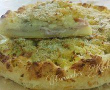 Torta di pasta sfoglia patatosa