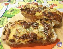Plumcake rusticone salame provola e patate